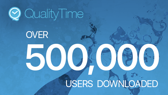 Over 500,000 users downloaded