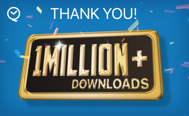 1 Million Downloads